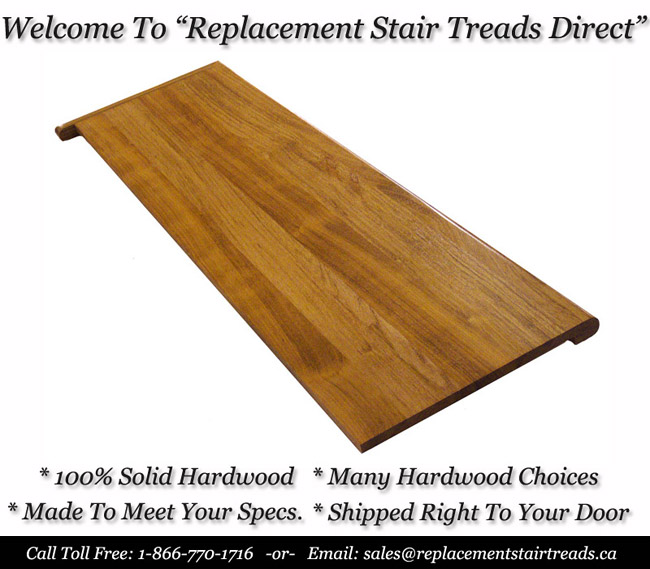 Replacement Stair Tread Covers And Reto Caps